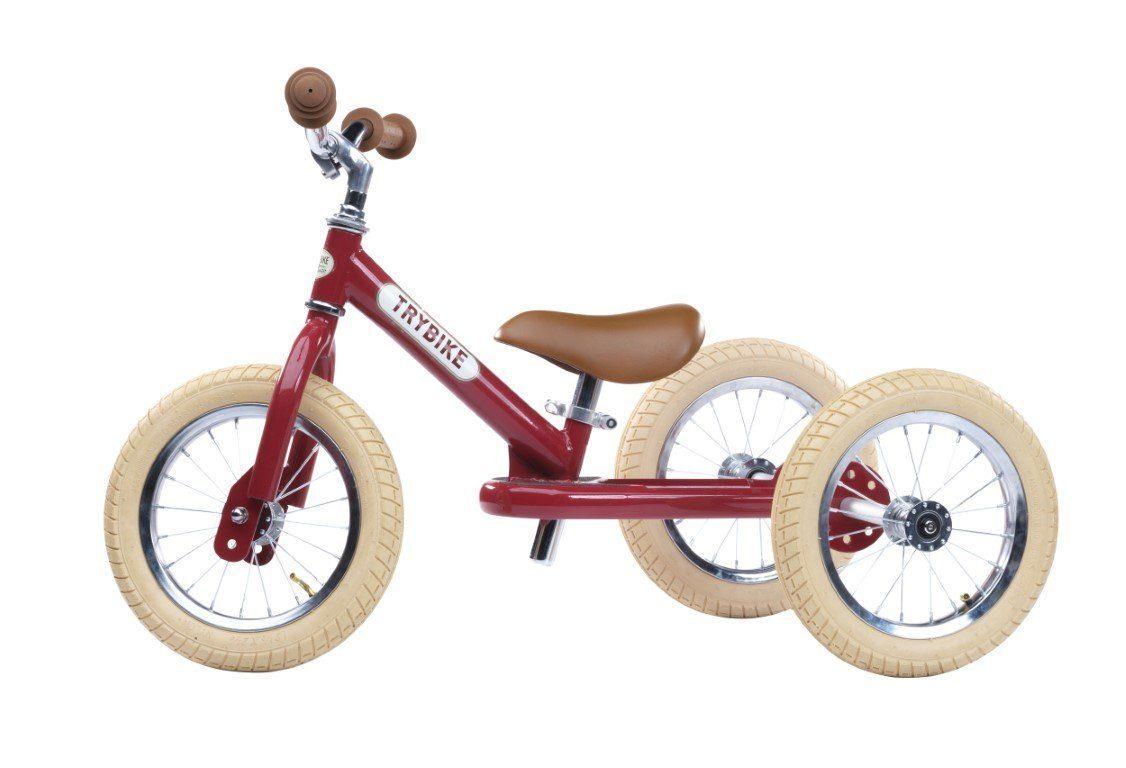 Trybike: Steel - Vintage Red/Creme image