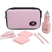 Joytech TechPak Pink Travel Kit for DSLite for Nintendo DS