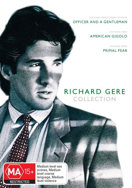 Richard Gere Collection (Officer And A Gentleman / American Gigolo / Primal Fear) (3 Disc Box Set) on DVD