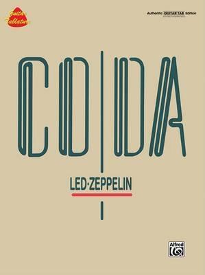 Led Zeppelin -- Coda: Authentic Guitar Tab by Zeppelin Led