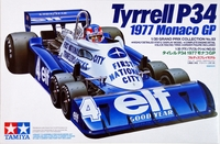 Tamiya: 1/20 Tyrrell P34'77 Mon - Model Kit