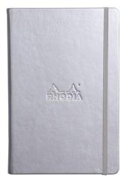 Rhodia Webnotebook - A5 Silver (Dot Grid)