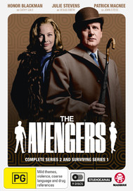The Avengers - Complete Series 2 & Surviving Series 1 on DVD
