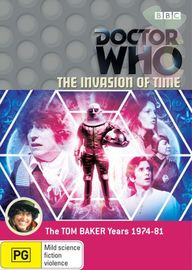 Doctor Who: The Invasion of time on DVD image