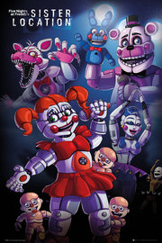 Five Nights At Freddy's Sister Location Maxi Poster (616)