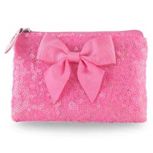 Pink Poppy: Forever Sparkle Coin Purse - Hot Pink