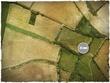 DeepCut Studio Aerial Field PVC Mat (4x4)