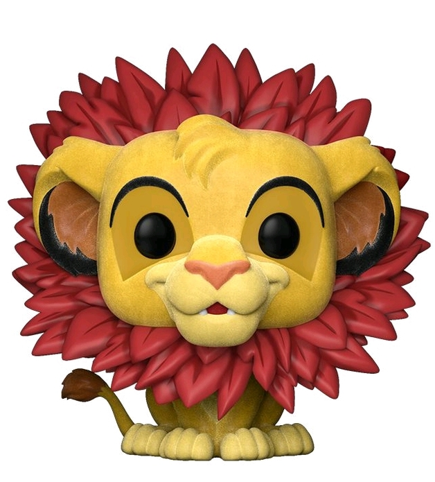 The Lion King - Simba (Flocked Ver.) Pop! Vinyl Figure