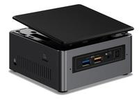 Intel NUC Mini PC, Core i5-7260U, 4GB RAM, 1TB HDD, Windows 10.
