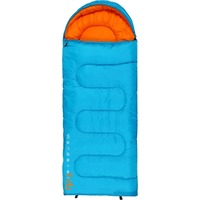 Wanderer Kids MiniFlame Hooded Sleeping Bag - 0C, Danube