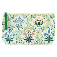 William Morris: Embroidered Pouch - Celandine