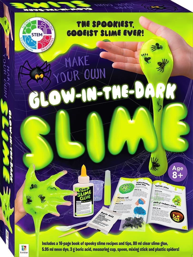 Hinkler: Make Your Own - Glow-in-the-Dark Slime Kit image