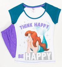 Disney: Little Mermaid Summer (Think Happy) - Women's Pyjamas (12-14)