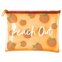 Sunnylife: See-Thru Pouch - Peach