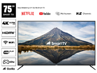 "Gorilla 75"" 4K UHD Smart TV"