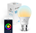 Smart Ape: 10W Colour & Warm/Cool White Smart Bulb (E27) - 1 Pack