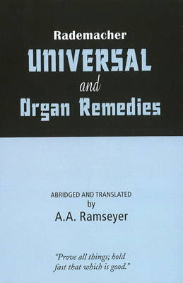 Rademacher Universal & Organ Remedies by A.A. Ramseyer image