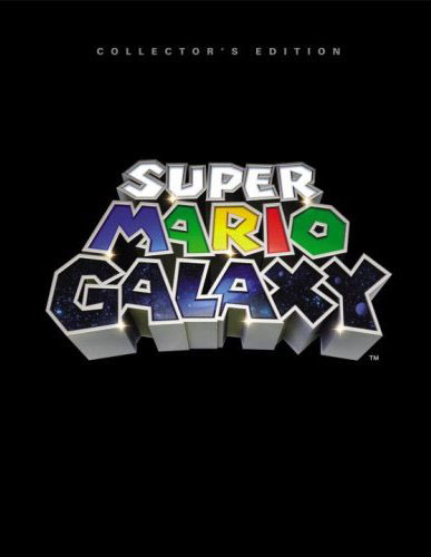 Super Mario Galaxy Collector's Edition Hardcover Prima Guide