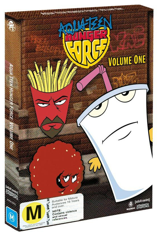 Aqua Teen Hunger Force - Volume 1 on DVD