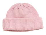 Babu Merino Knitted Rib Hat - Pink (0-3 Months)