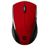 HP X3000 Wireless Optical Mouse (Red)