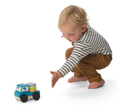 Le Toy Van: Truck Stacker image