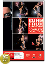 Kung Faux - Complete Collection (5 Disc Fatpack) on DVD