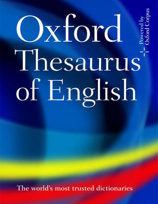 Oxford Thesaurus of English image