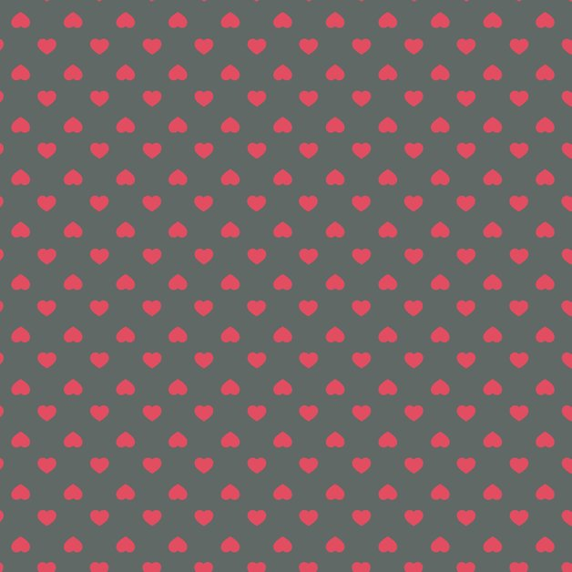 Legami: Wrapping Paper - Hearts