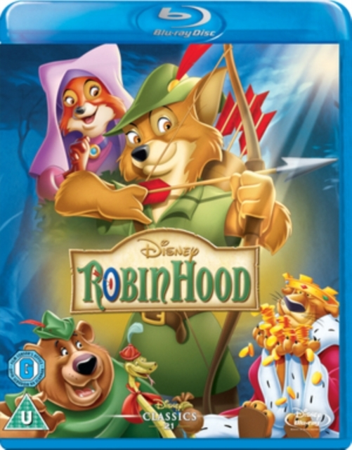 Robin Hood on Blu-ray