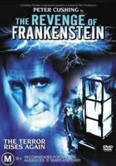 The Revenge Of Frankenstein on DVD