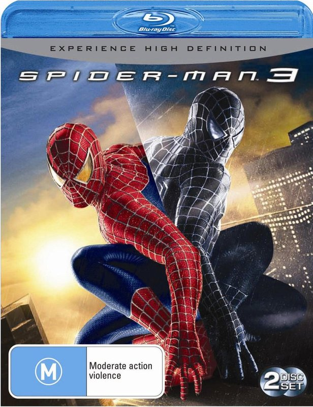 Spider-Man 3 on Blu-ray