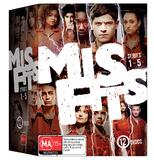 Misfits - Series 1-5 Box Set on DVD