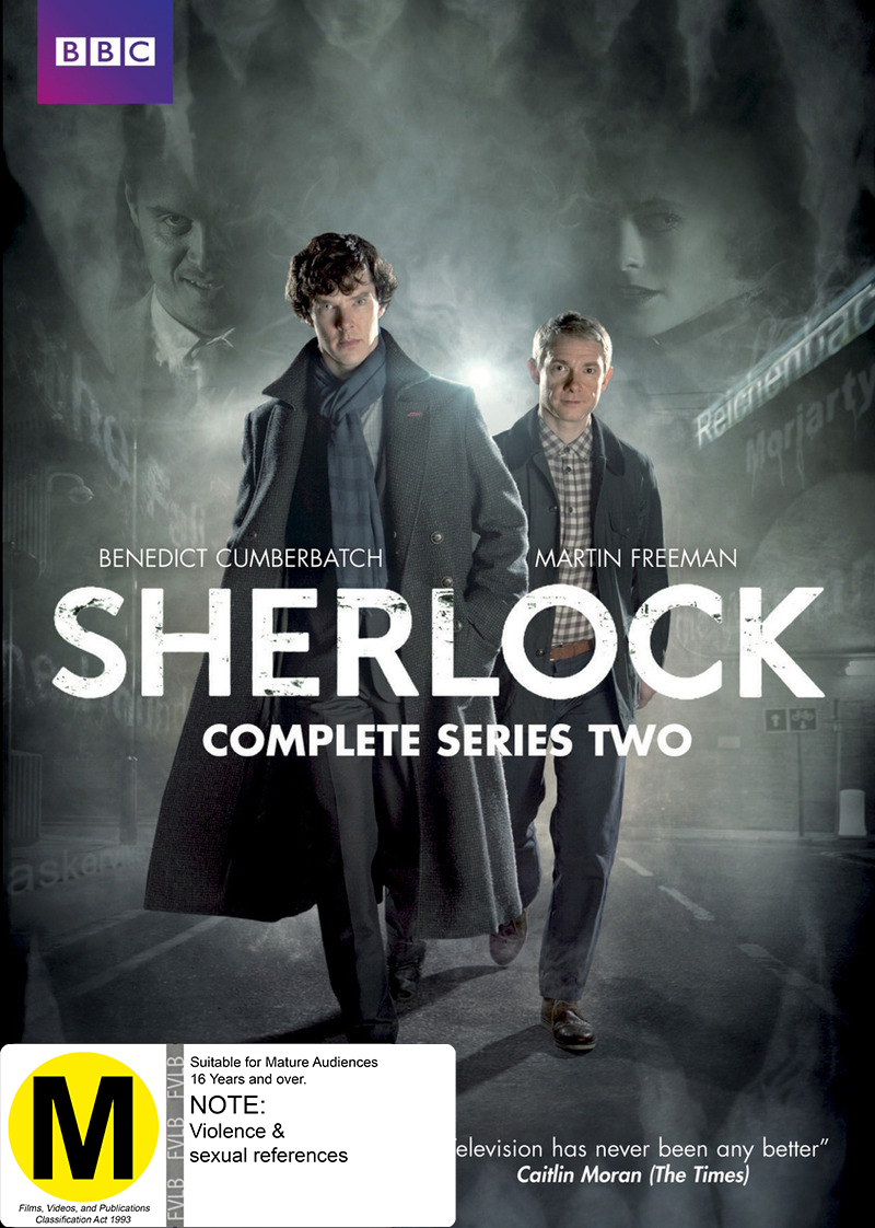 Sherlock - Complete Series Two on DVD image