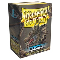 Dragon Shield Card Sleeves Brown