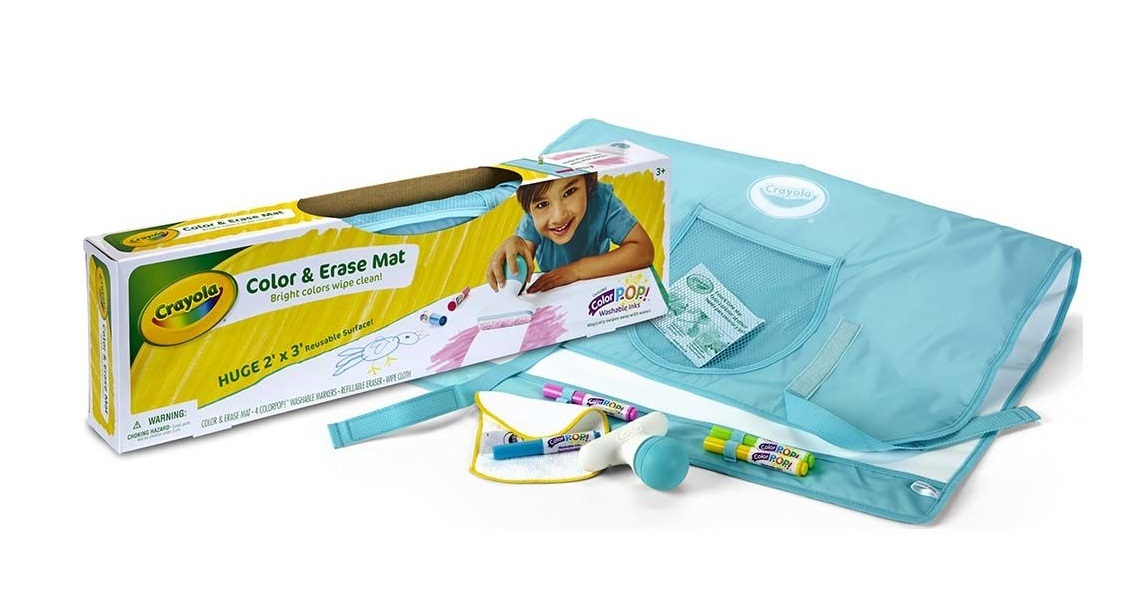 Crayola: Colour & Erase Mat image