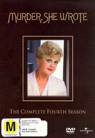 Murder, She Wrote - Complete Season 4 (6 Disc Set) on DVD
