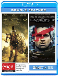 Troy/Alexander Revisted Final Cut - Blu-ray Action Pack (2 Disc Set) on Blu-ray