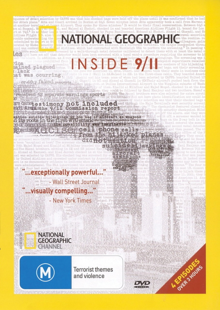 National Geographic - Inside 9/11 on DVD image