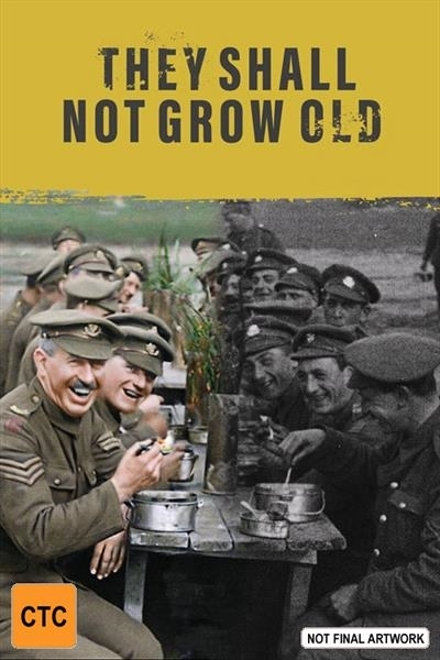 They Shall Not Grow Old on DVD image