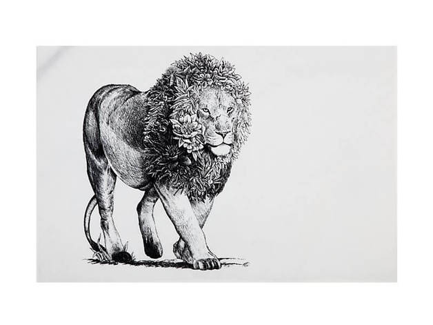 Maxwell & Williams Marini Ferlazzo Tea Towel - African Lion