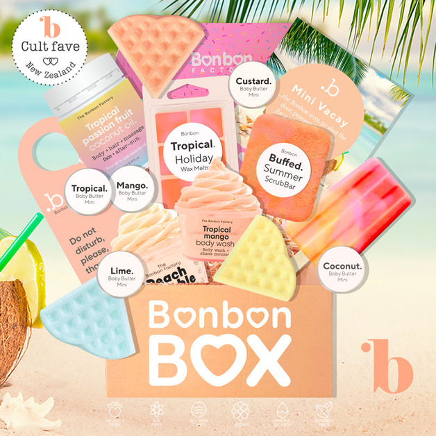 The Bonbon Factory Vacay Box