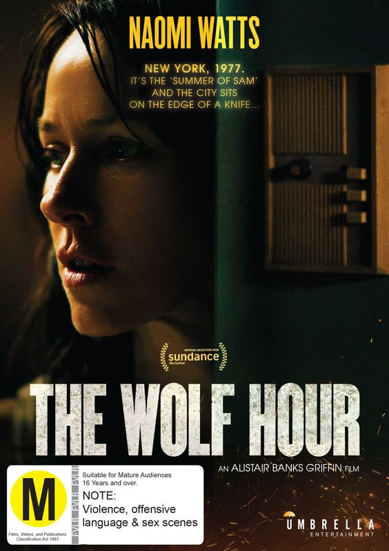 The Wolf Hour on DVD