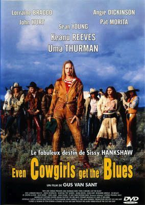 Even Cowgirls Get The Blues on DVD