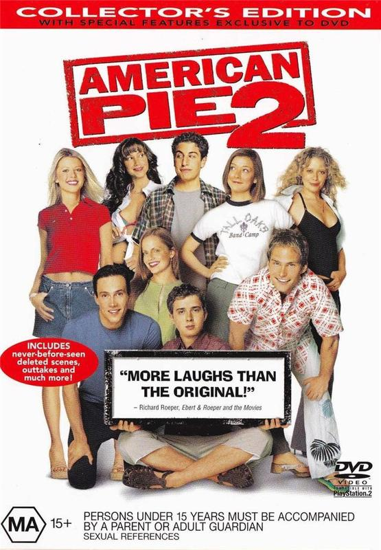 American Pie 2 on DVD