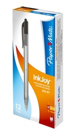 Paper Mate InkJoy Ballpoint Pen 1.0 - Black (12 Box)