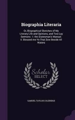 Biographia Literaria by Samuel Taylor Coleridge image