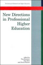 New Directions In Professional Higher Education by Tom Bourner image
