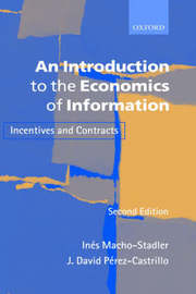 An Introduction to the Economics of Information by Ines Macho-Stadler image