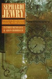 Sephardi Jewry by Esther Benbassa image